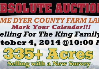 Absolute Auction: 335+ Acres!