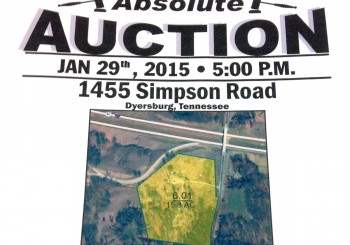 Absolute Auction! 15.8 +/- Acres