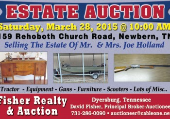 Estate Auction: March 28th