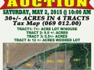 Auction – May 2nd
