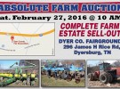 Farm Auction – February 27th