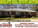 Real Estate Auction: March 17th