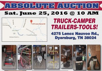 Absolute Auction: Saturday, June 25th