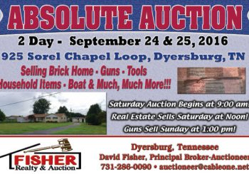 Absolute Auction: September 24th & 25th