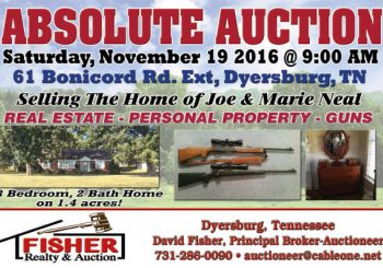 Absolute Auction: November 19th