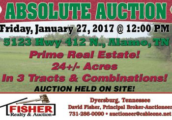 Absolute Auction: January 27th