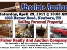 Absolute Auction: April 29th