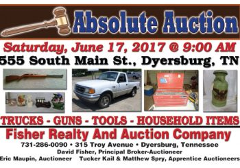 Absolute Auction: June 17th