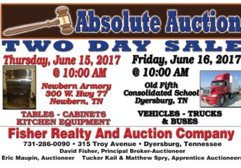 Absolute Auction: June 15th & 16th