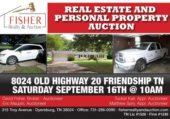 Absolute Auction: September 16th