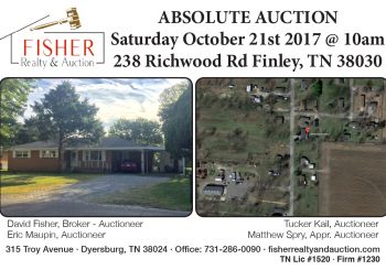 Absolute Auction: October 21st